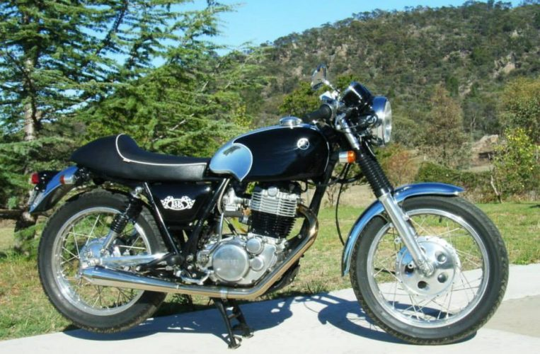 yamaha sr500 caf racer bk500 mid life cycles. Black Bedroom Furniture Sets. Home Design Ideas
